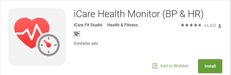 icare health monitor safety apps for android