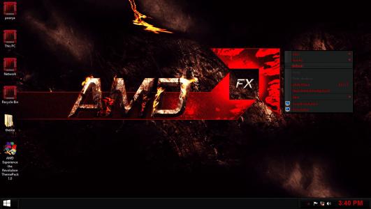 AMD - Best windows 10 theme