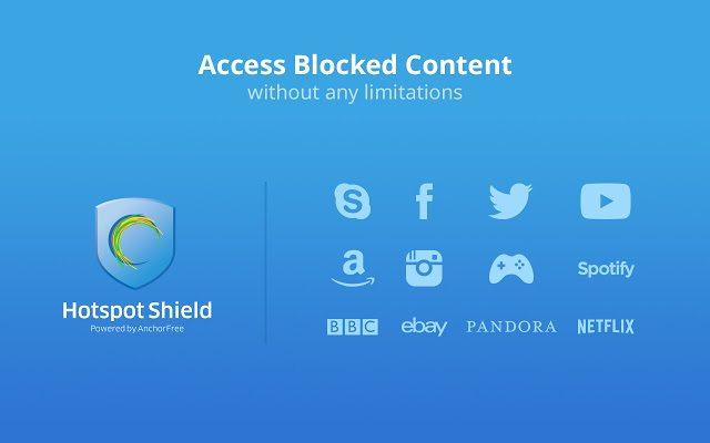 HotSpot Shield - Best VPN Softwares for Windows & MAC