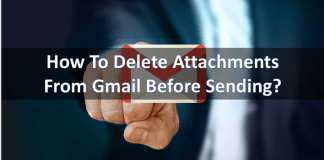 How to Delete Attachments From Gmail
