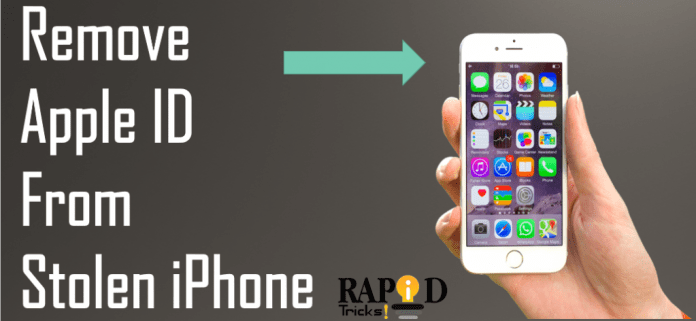 How to Remove Apple ID From Stolen iPhone