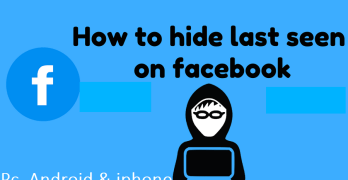How to Hide My Last Seen or Last Active On Facebook Chat [2018]