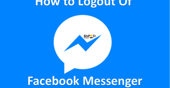 How to logout of Facebook messenger on iPhone