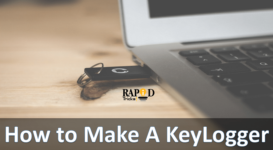 How to make a USB keylogger - How to Create a Keylogger