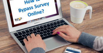 Survey bypass online