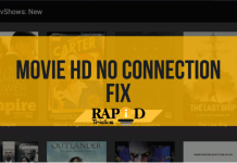 How to Fix Movie HD No Connection Error