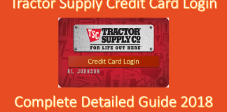 Tractor Supply Credit Card Login