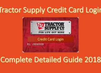 Tractor Supply Credit Card Login