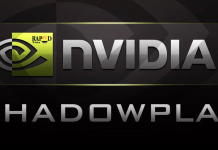 Nvidia ShadowPlay For Windows