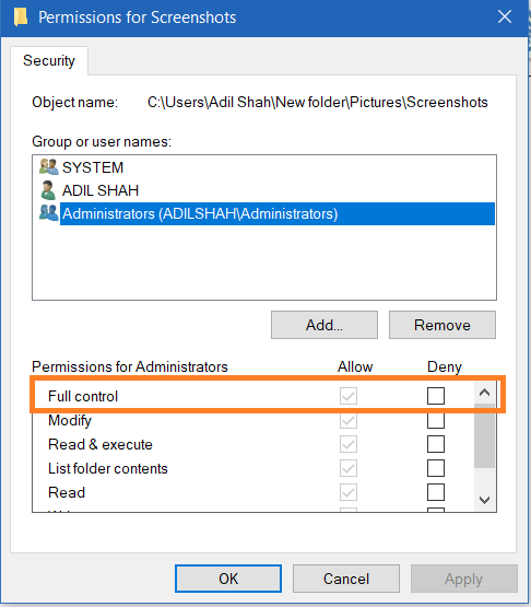 Fix You Don't Have Permission to Save in This Location Windows 10, 8.1, 7