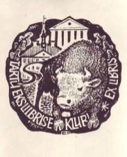 Tartu Eksliibrise Klubi 1977 okt