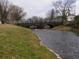 Vaade Rapla sillale enne renoveerimist, aprill 2009