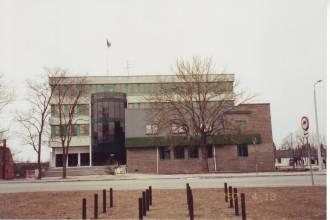 Rapla haldushoone, aprill 1997
