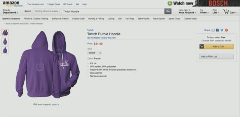 Twitch Purple Hoodie