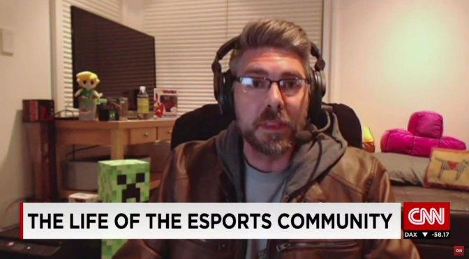 DJ Wheat Talks e-sports with CNN