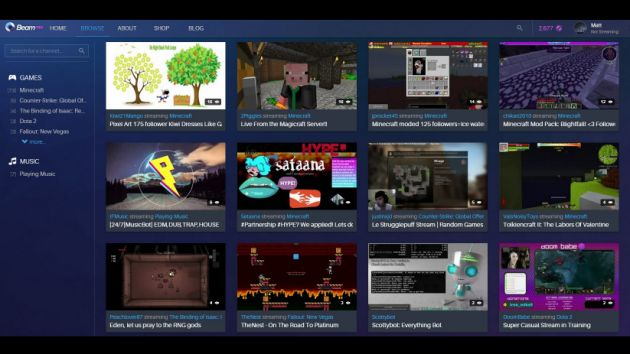 Xbox Acquires Beam, Taking on Twitch