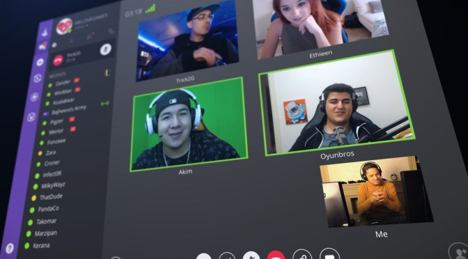 Twitch brings video calls to its game communication app