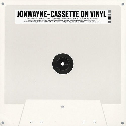 Jonwayne – Cassette On Vinyl