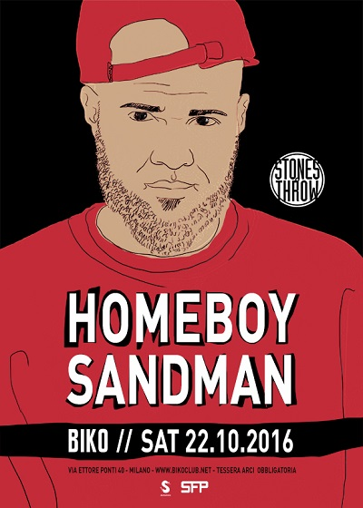 Homeboy Sandman live a Milano