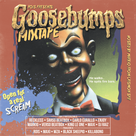 Rois The Creepychild – Goosebumps mixtape (free download)