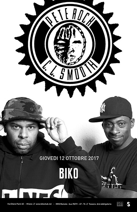 Pete Rock & C.L. Smooth live a Milano – 12/10/17