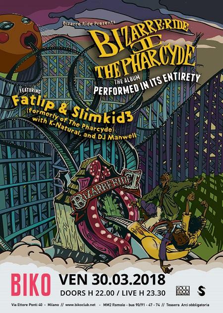 Fatlip e Slimkid3 (The Pharcyde) live a Milano – 30 marzo 2018