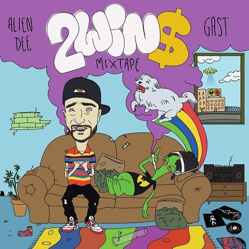 Alien Dee e Gast – 2win$ mixtape