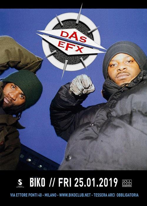 I Das EFX live a Milano il prossimo 25 gennaio!