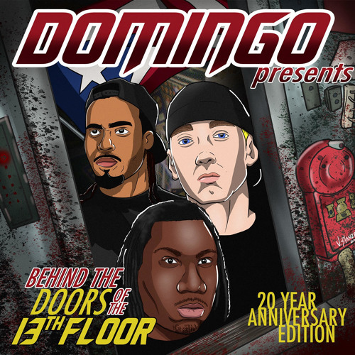 "Domingo remixa Eminem per la riedizione di ""Behind The Doors Of The 13th Floor"""