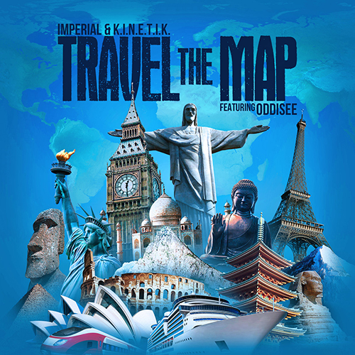 """""""Travel The Map"""" e' il nuovo singolo di Imperial e K.I.N.E.T.I.K."""