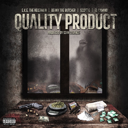 "S.K.E. The Heistman ospita Benny The Butcher, ElCamino e Scott G. in ""Quality Product"""