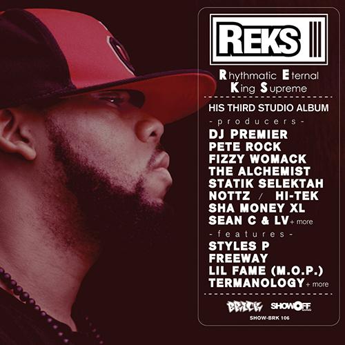 Reks – Rhythmatic Eternal King Supreme