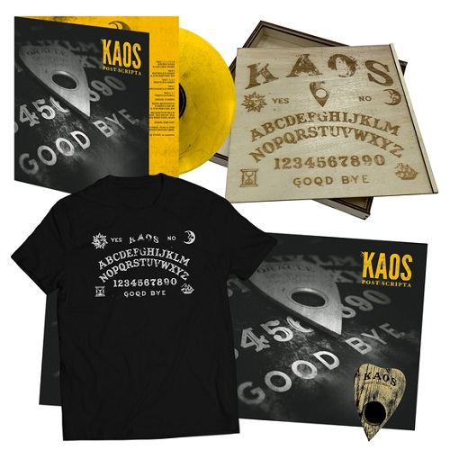 "Tuff Kong Records stampa in vinile ""Post scripta"" di Kaos"