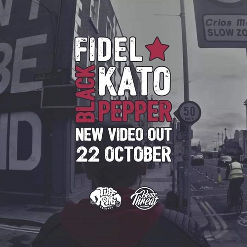 """Black pepper"" e' il nuovo video di Fidel Kato"