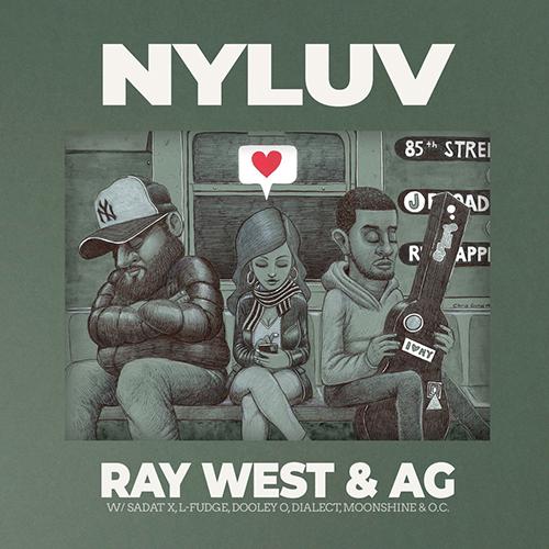 """""""NYluv"""" e' il nuovo progetto di Ray West e A.G."""