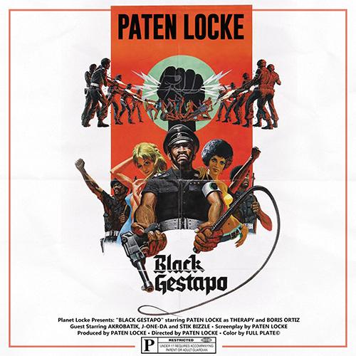 "Paten Locke pubblica ""Black Gestapo"""