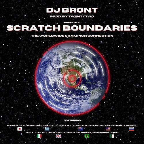 "Dj Bront pubblica ""Scratch boundaries"""