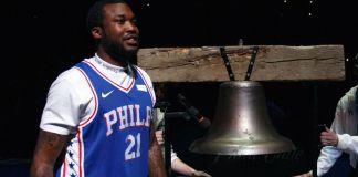 Meek Mill Philadelphia 76ers