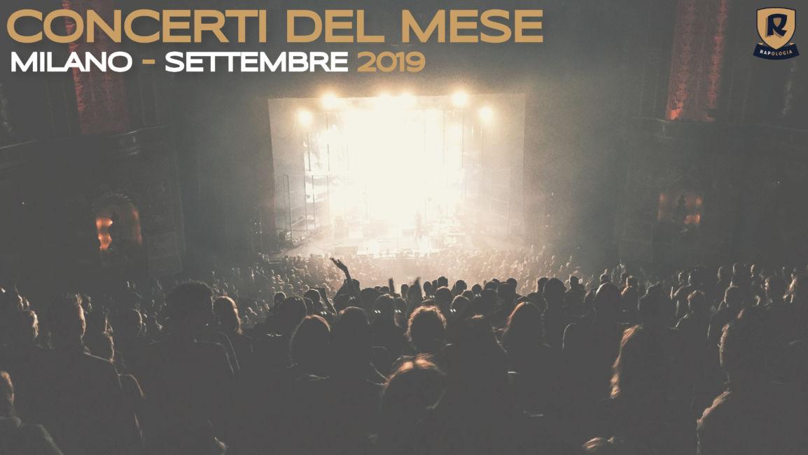 eventi rap milano settembre