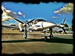 I got my first taste of turbo-diesel flying with this DA-42. As always, I am impressed with Diamond's products.