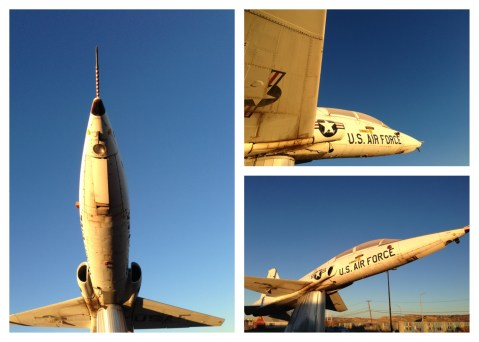 It's hard to believe the T-38 has been flying since the 1950s! This one is perched outside the FBO in Gallup, NM.