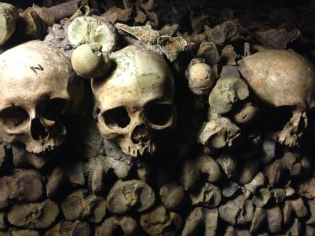 There are six million Parisians buried in the catacombs under the city