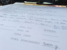The one constant in aviation: paperwork.
