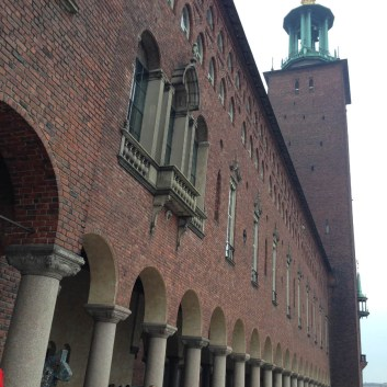 Stockholm City Hall is best known as the setting for the annual Nobel prize ceremony.