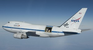 The SOFIA airborne observatory.