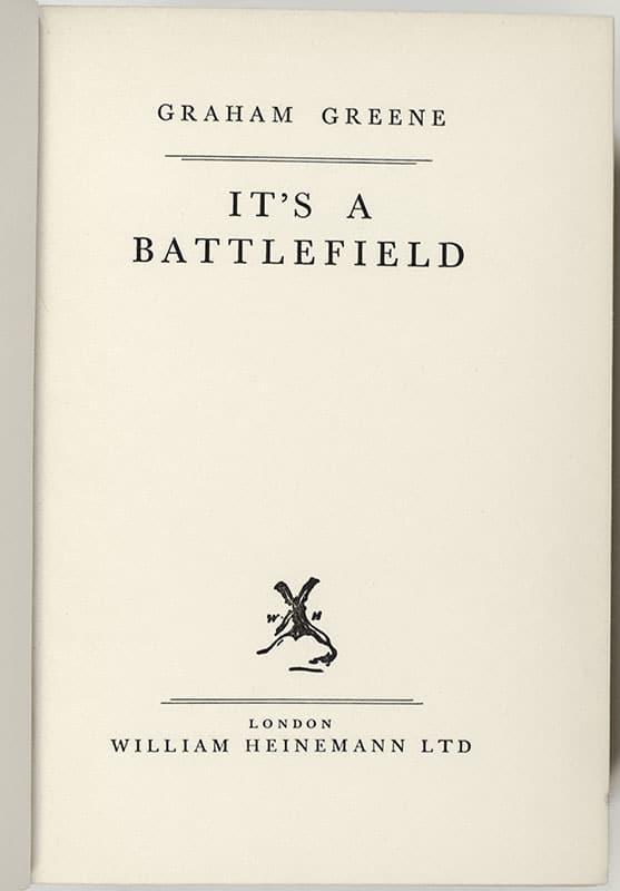 It's A Battlefield.