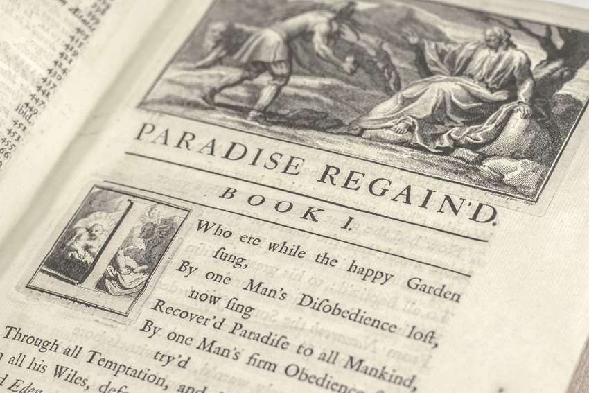 Paradise Lost. A Poem, in Twelve Books and Paradise Regain'd. A Poem in Four Books.