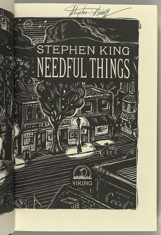 Needful Things.
