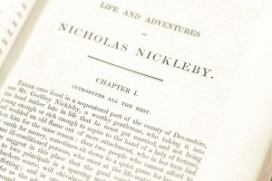 The Life and Adventures of Nicholas Nickleby.