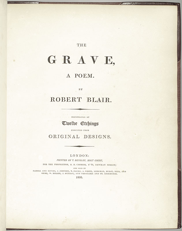 The Grave, A Poem.